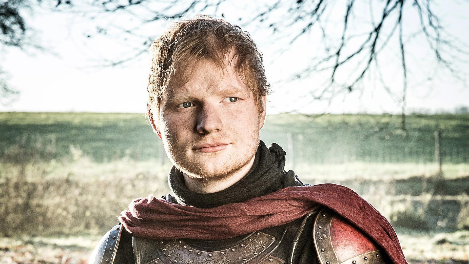 Ed Sheeran som stackars Eddie. Pressbild.
