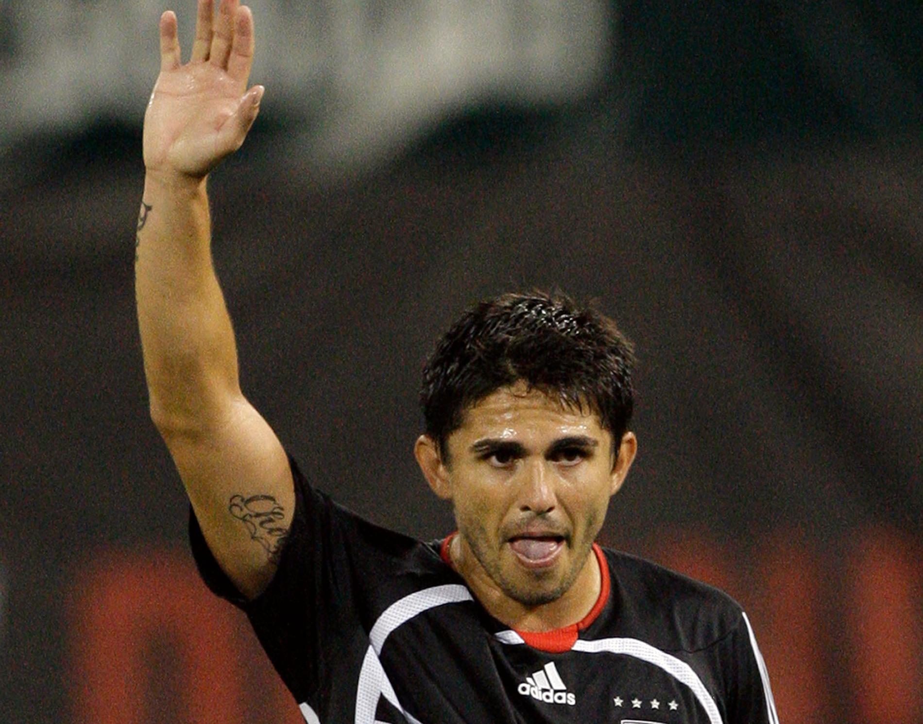 Moreno under en match för DC United i MLS.