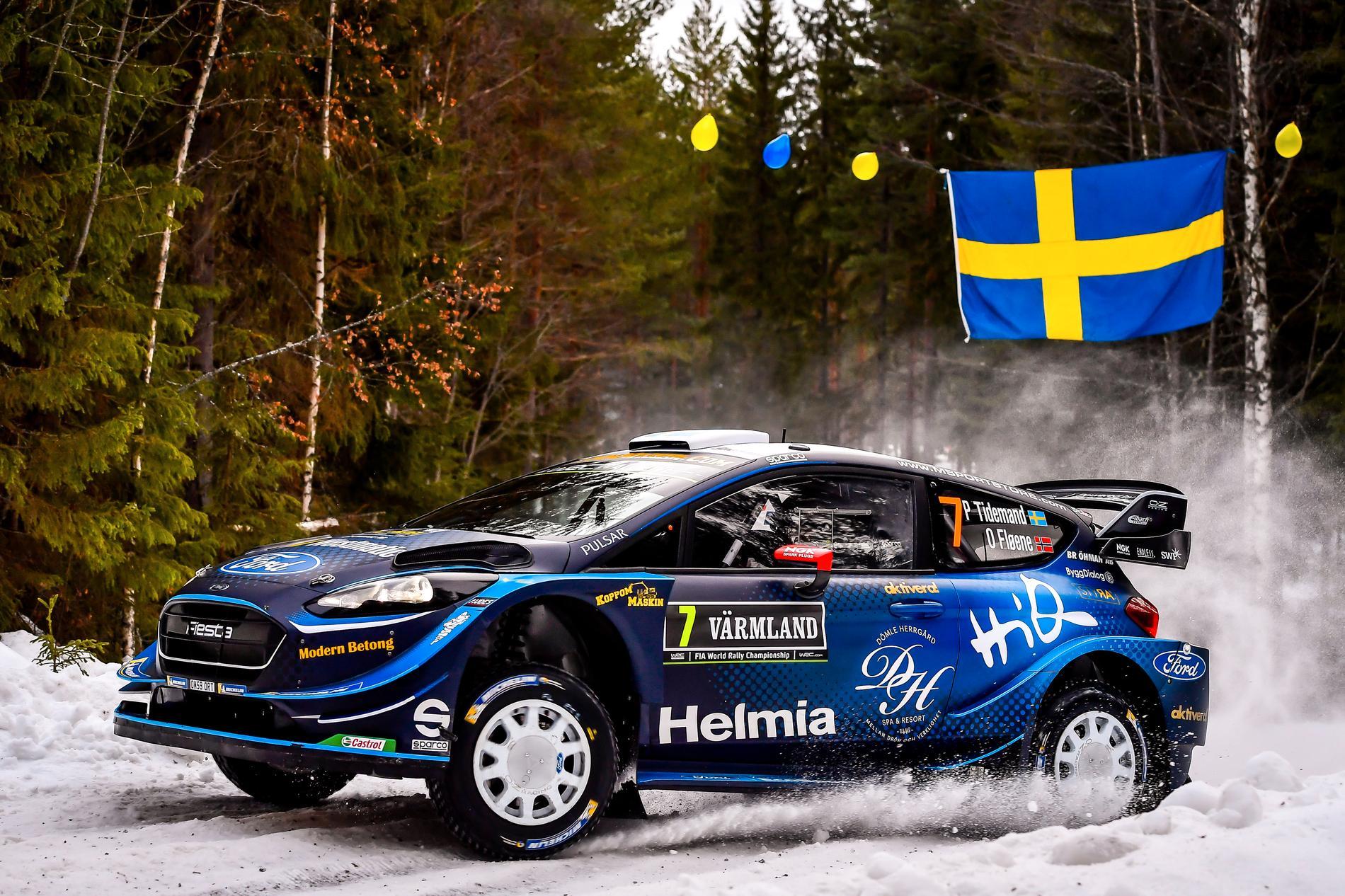 Rally Sweden stannar i VM, kör Pontus Tidemand WRC 2020?