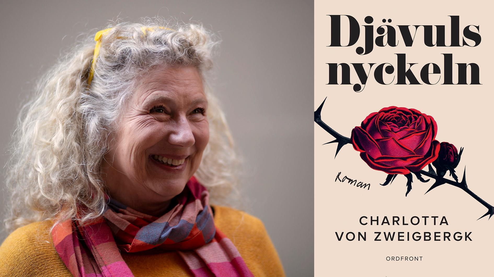 """Charlotta von Zweigbergk, journalist och författare. Hon nominerades till Augustpriset 2016 för boken """"Fattigfällan"""", och utkommer nu med """"Djävulsnyckeln""""."""
