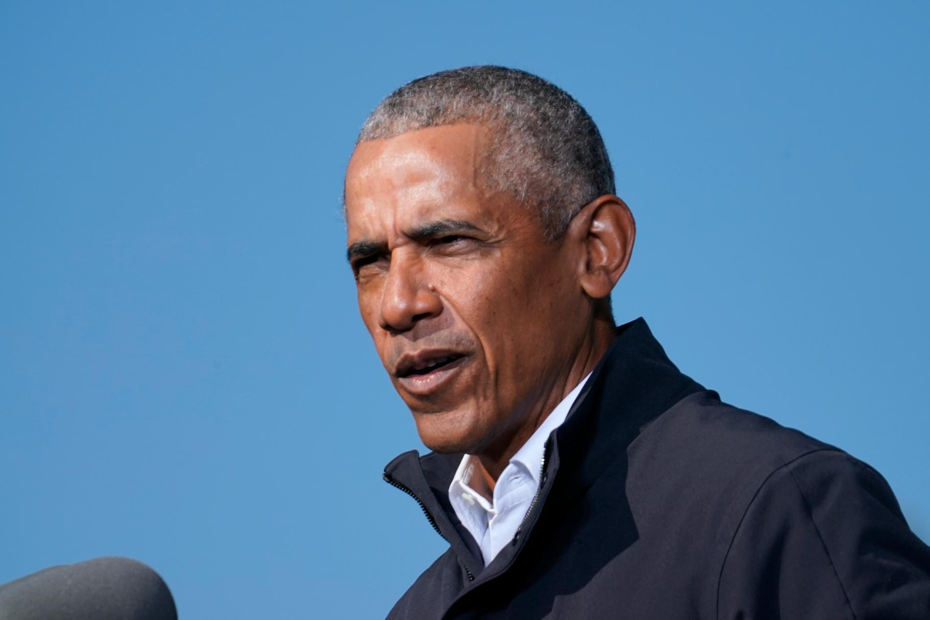 Före detta president Barack Obama firar 60 år. Arkivbild.