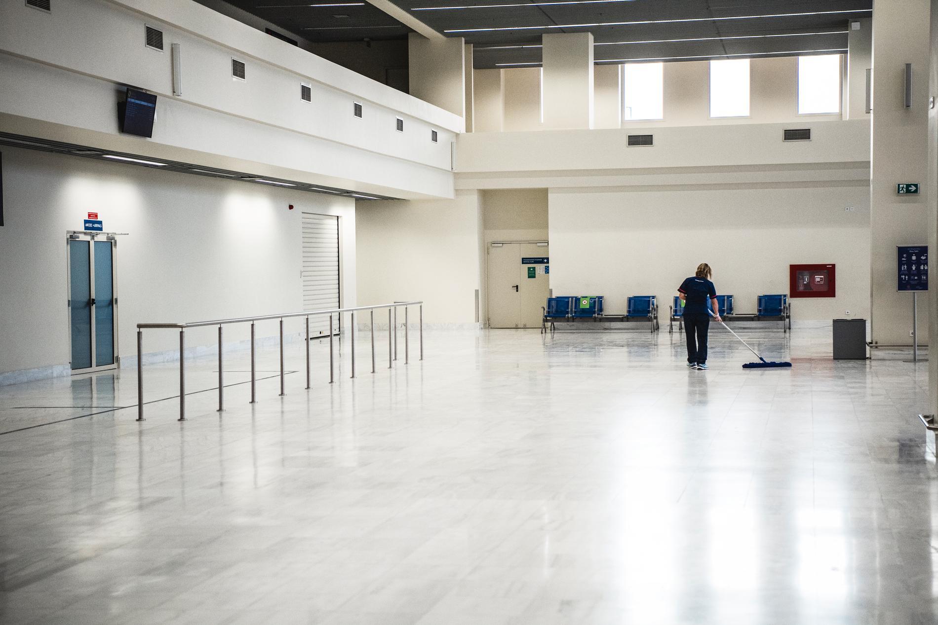 Chania Airport på Kreta