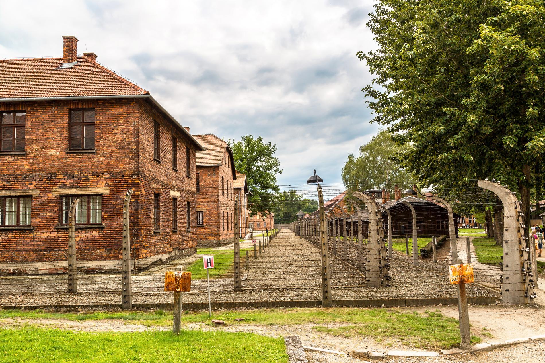 Auschwitz kan vara tungt att besöka, men anses av många vara viktigt att se.