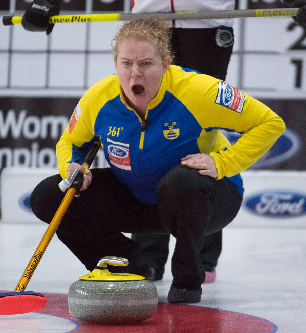 Svenska skippern Margareta Sigfridsson.
