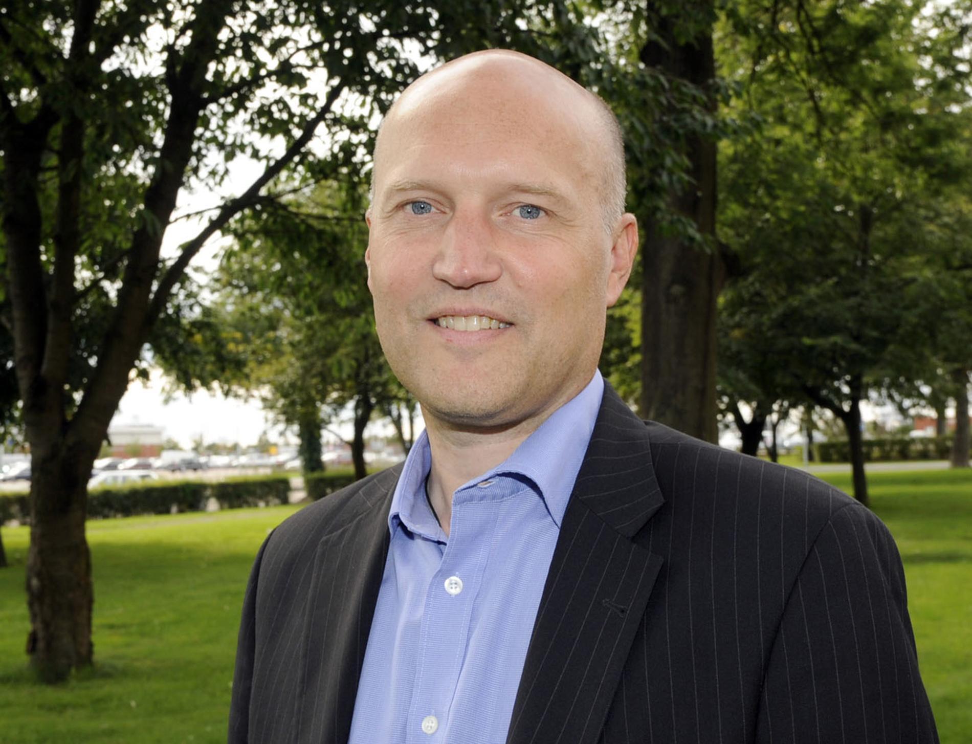 Halmstadtravets VD Dag Ekner