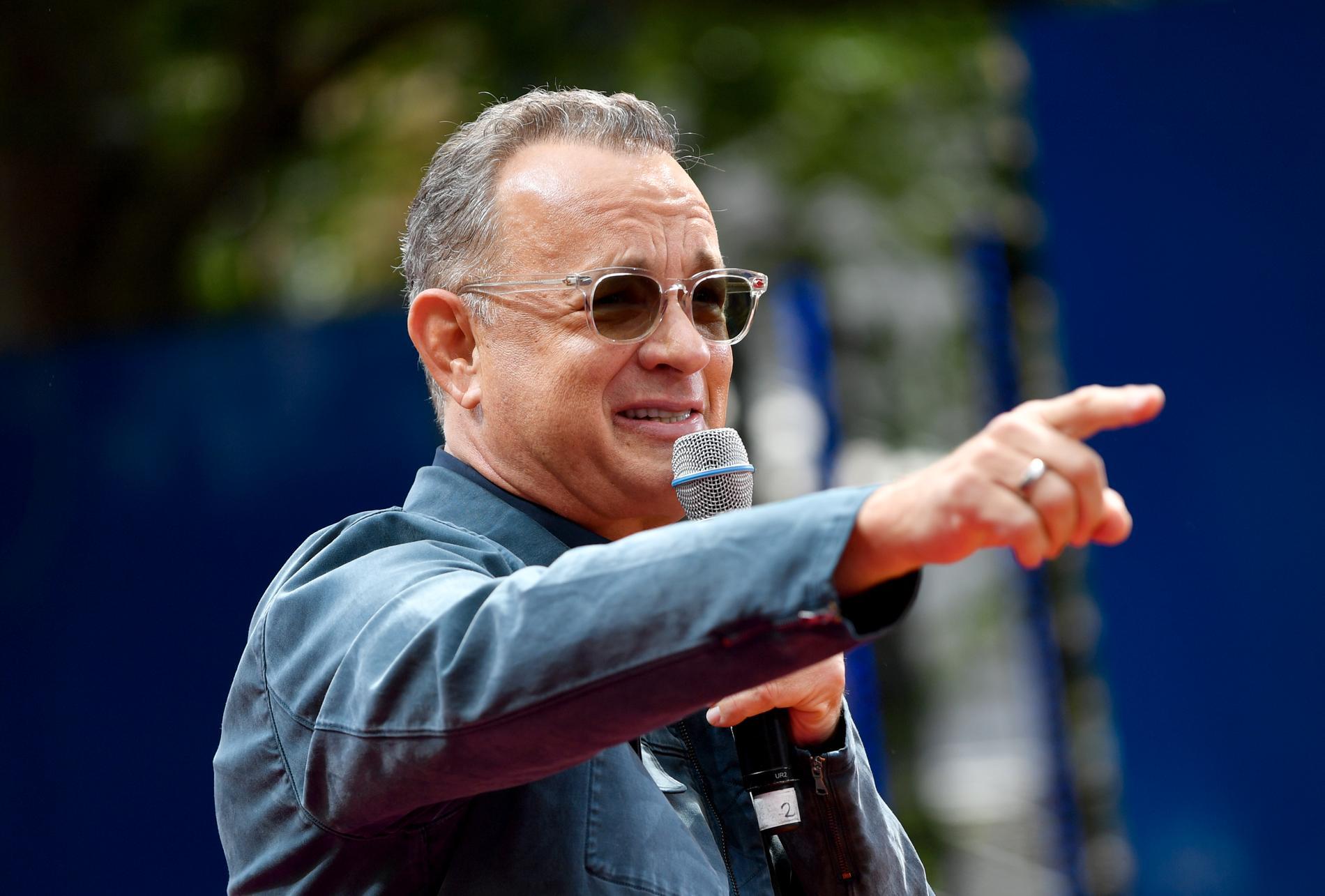 Tom Hanks är en stor supporter till laget, som numera heter Cleveland Guardians.