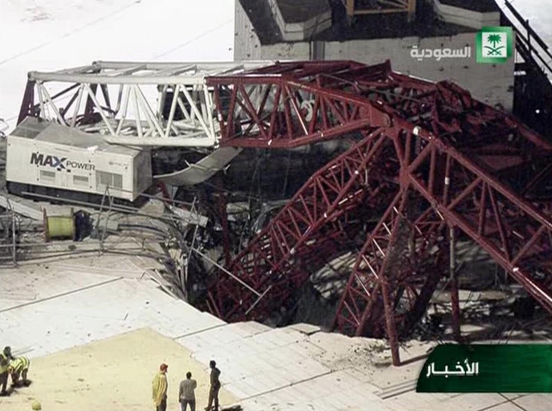Kranolyckan i Stora moskén för två veckor sedan.