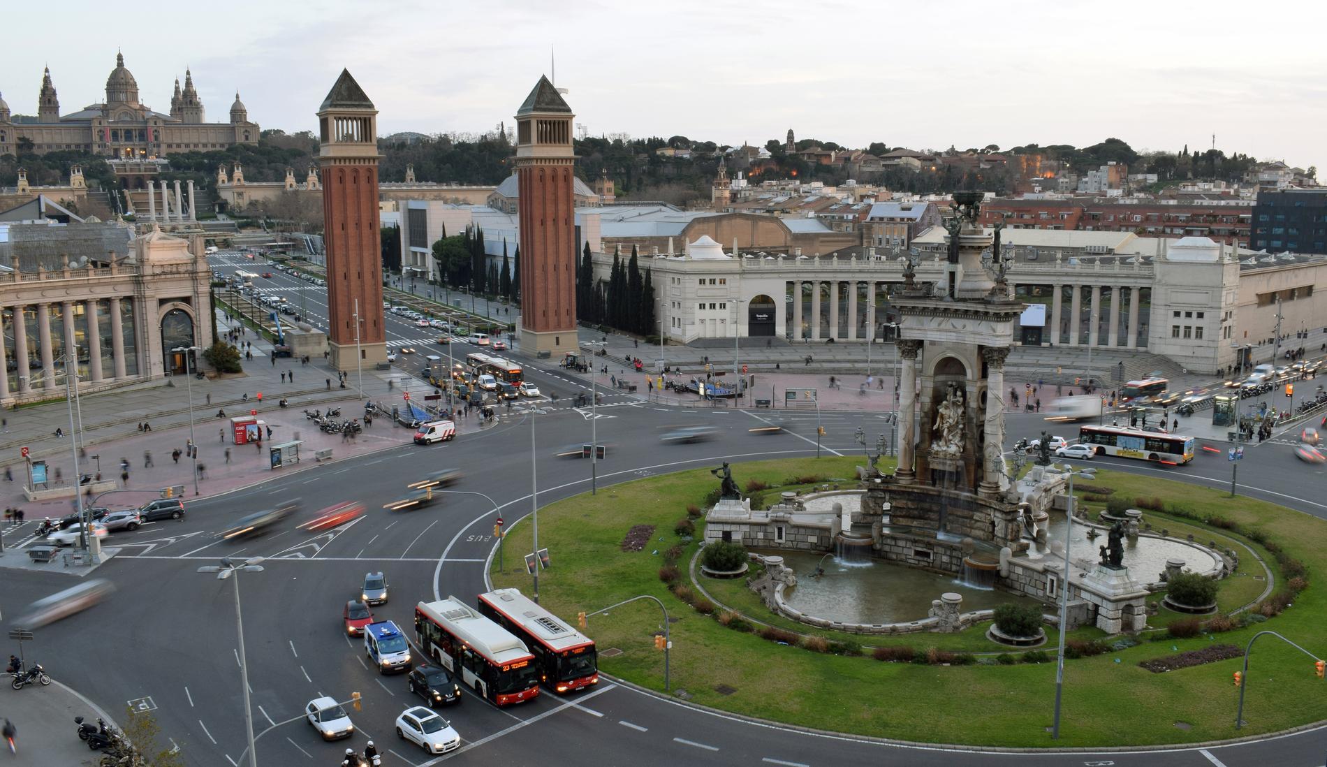 Svensken som misstänks för sexövergrepp i Barcelona greps i området Sants-Montjuïc.