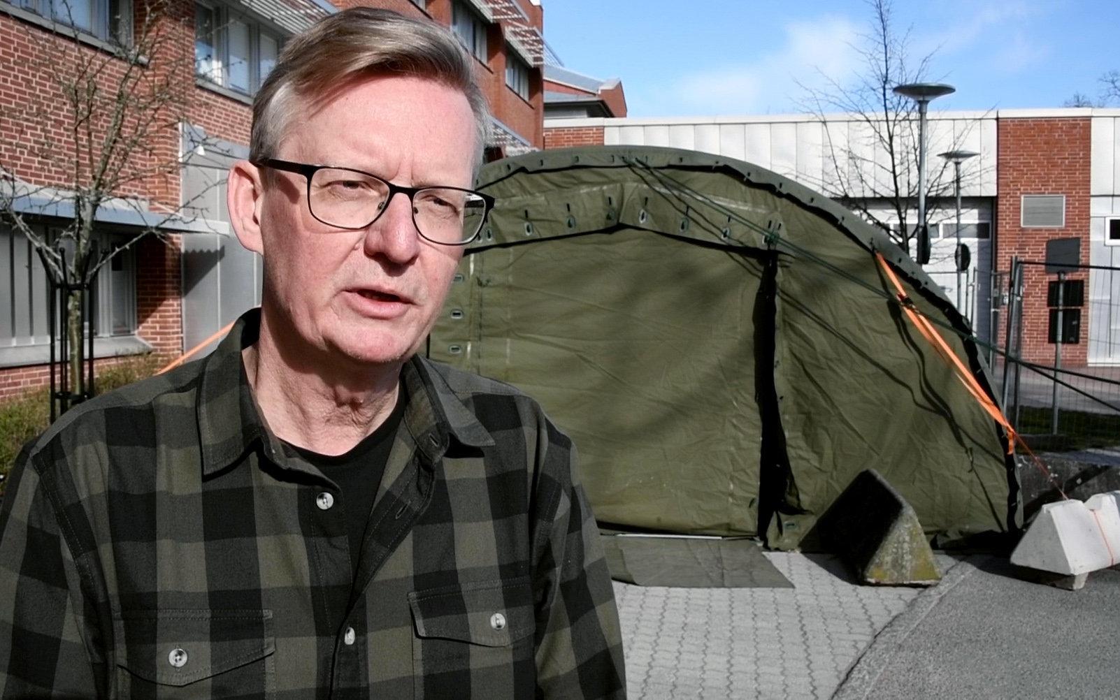 Per-Åke Jarnheimer, tf smittskyddsläkare i Kalmar.