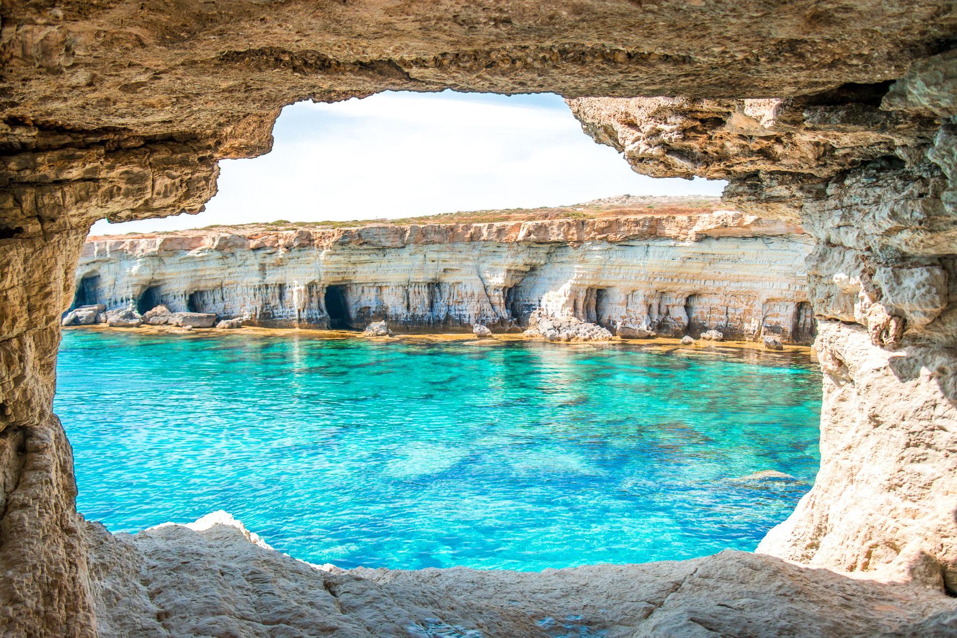 På Cypern är det solsäkert året runt.
