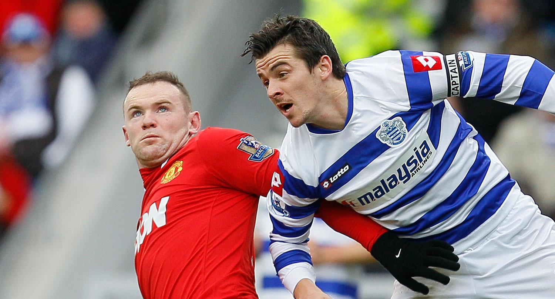 Wayne Rooney och Joey Barton.