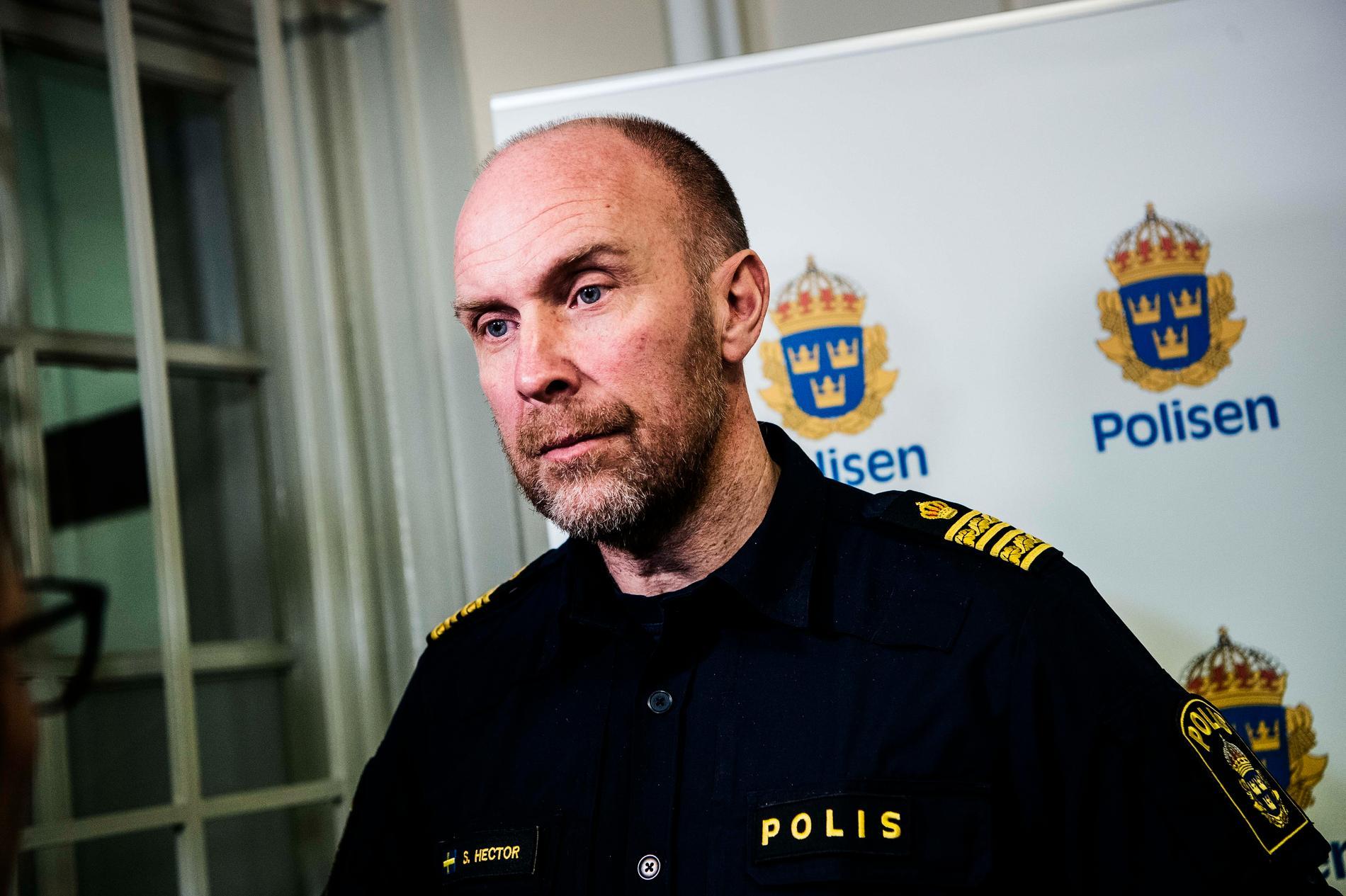 Stefan Hector, chef för operativa enheten på NOA