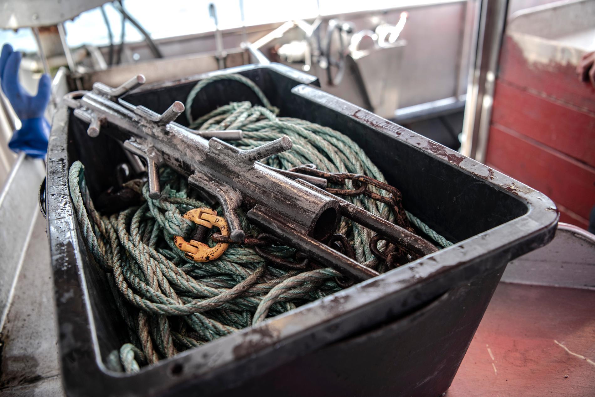 """Yrkesfiskare ska få betalt för att ta upp """"spöknät"""" och andra förlorade fiskeredskap, som annars vållar lidande och död för många arter i havet. Arkivbild."""