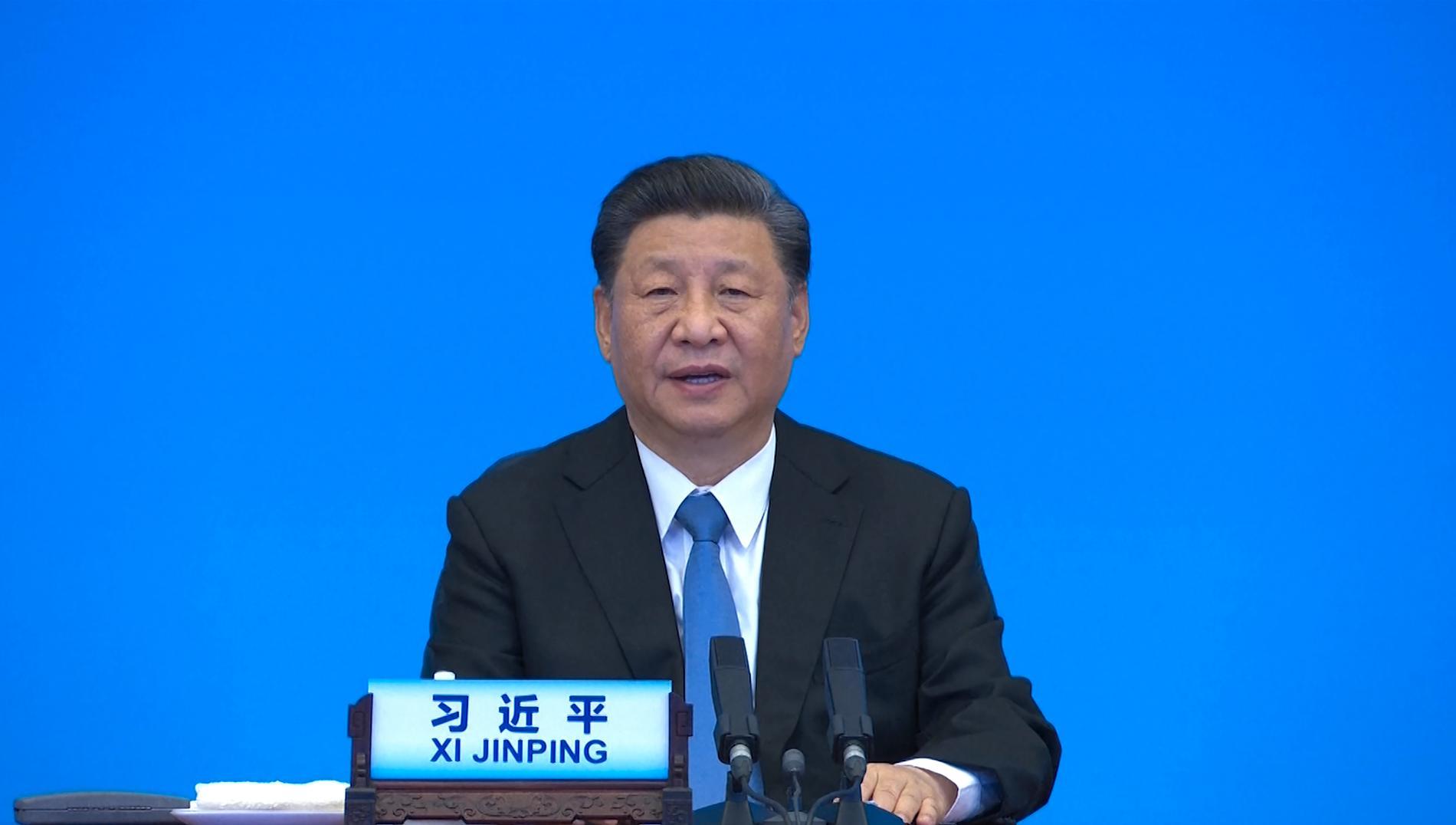 Kinas president Xi Jinping utlovar miljarder doser vaccin till övriga världen. Arkivbild