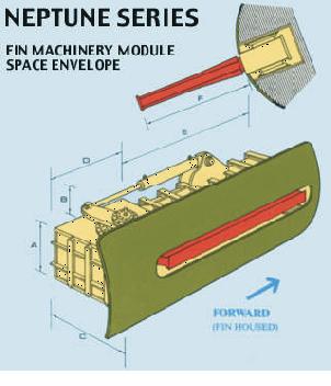 M/S Estonia fick nya fenstabilisatorer installerade i början av 1994.