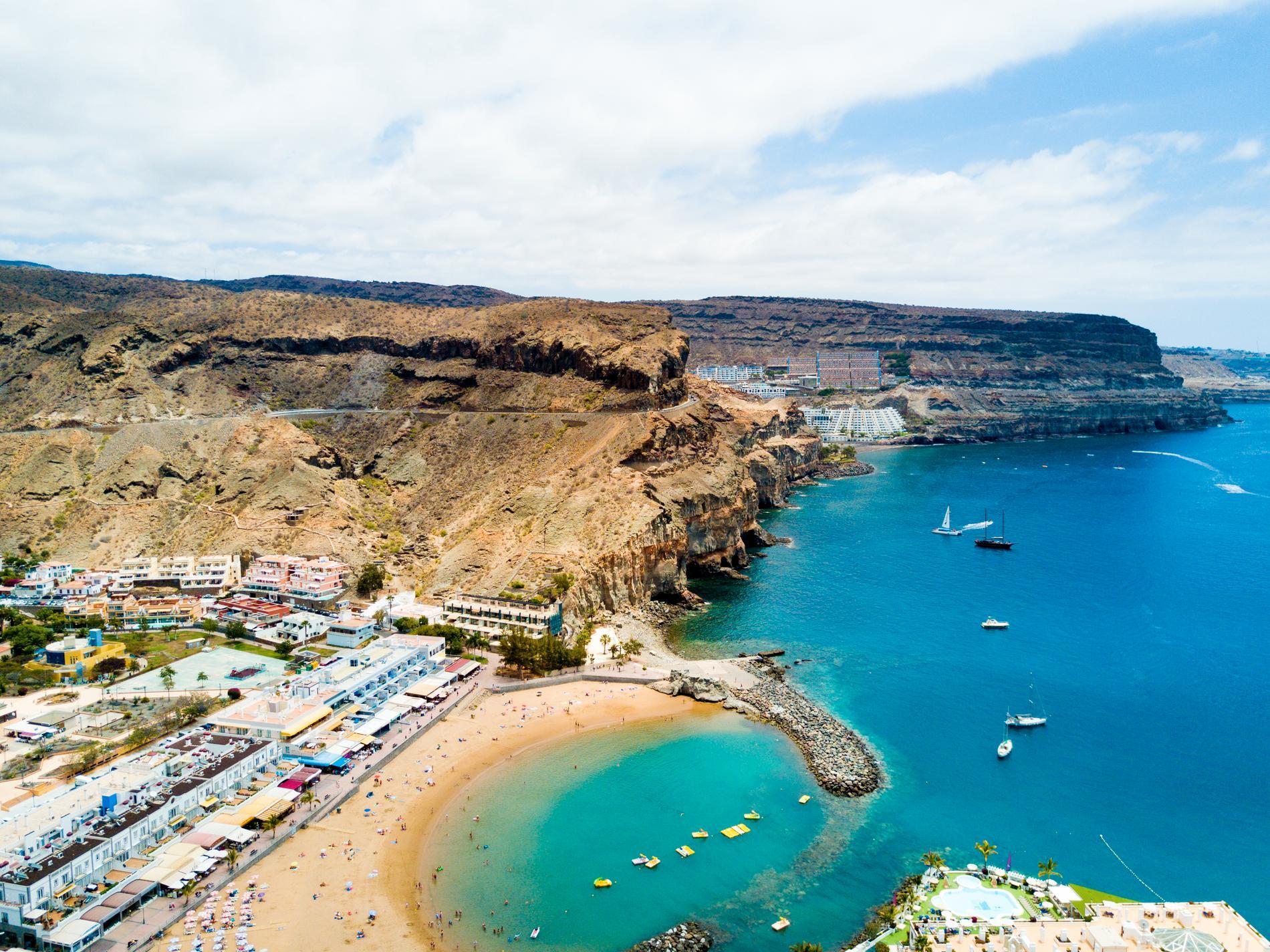Gran Canaria lockade överlägset flest svenskar i jul.