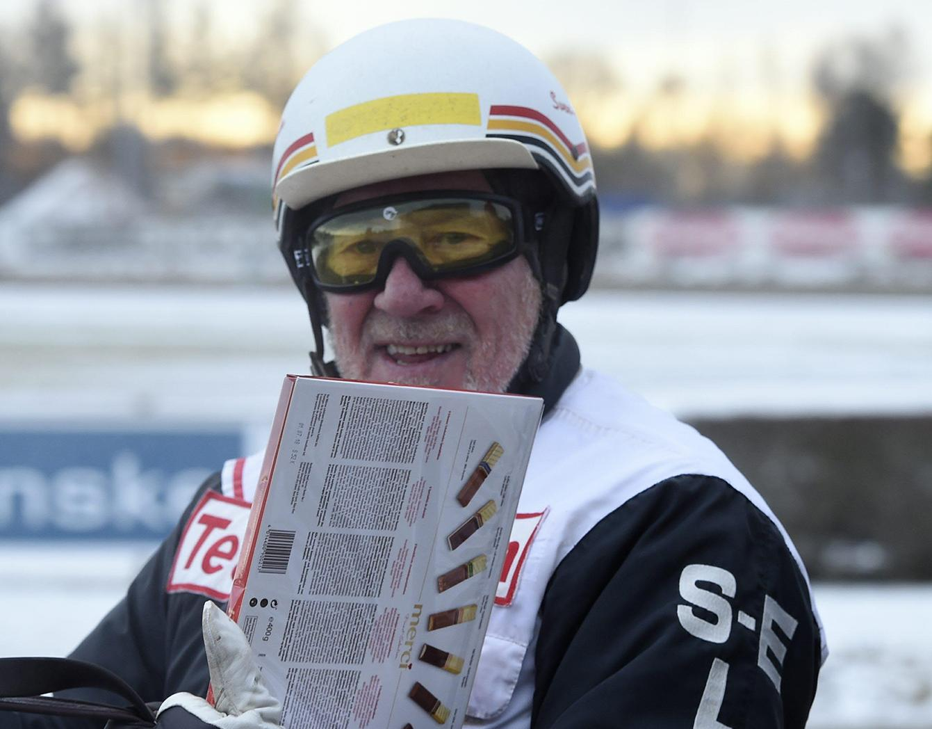 Sven-Erik Landin är tidernas äldste segerkusk i Sverige.