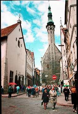 Tallinn - mysigt och tillräckligt litet för att vara promenadvänligt.