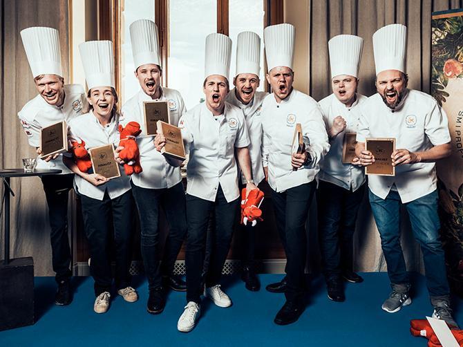 Den 16 september är det final i Årets kock.