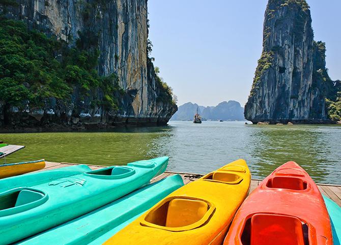 Vietnam är ett bra val om man vill ha mycket resa för pengarna, tipsar Katarina Daniels, Ticket.