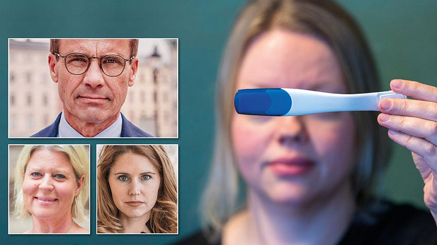 Dagens abortlagstiftning är föråldrad. Nu borde Sverige gå vidare. För den som vill utföra en medicinsk abort i hemmet – självklart med stöd och rådgivning – bör det bli möjligt, skriver Ulf Kristersson, Camilla Waltersson Grönvall och Josefin Malmqvist.