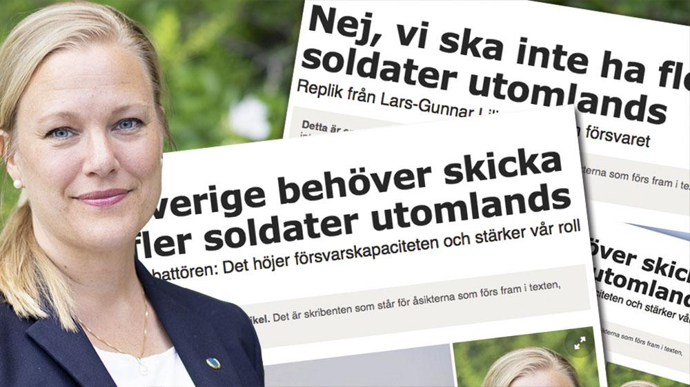 Vi skulle med välutbildade, välutrustade och jämställda truppbidrag i högre grad kunna bidra kvalitativt och kvantitativt till FN-ledda fredsfrämjande insatser, skriver Annelie Börjesson, ordförande i Svenska FN-förbundet.