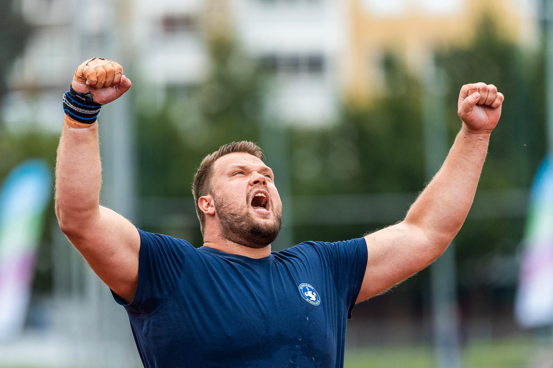 Daniel Ståhl kastade 68,02 i säsongens sista tävling.