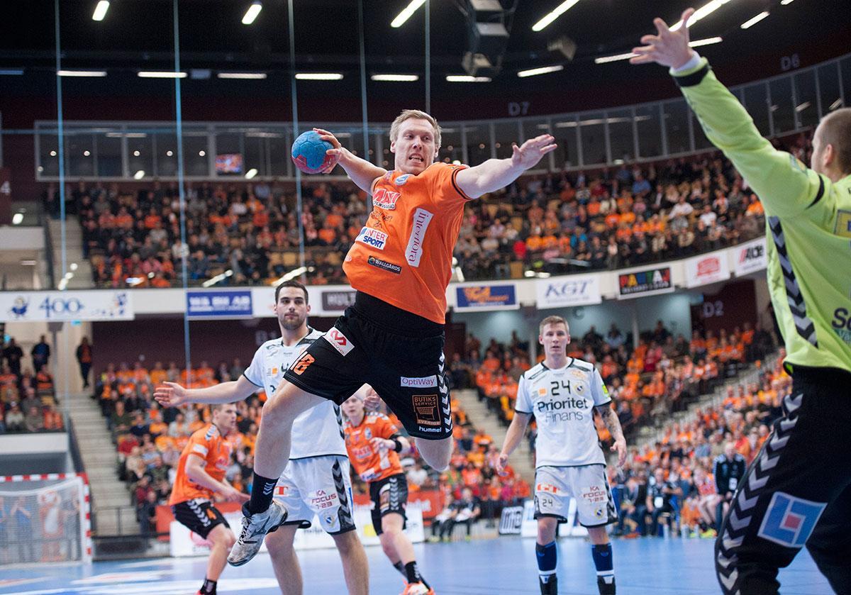 Gårdagens match mellan Kristianstad och Redbergslid slutade i vinst för hemmalaget med 24–19.