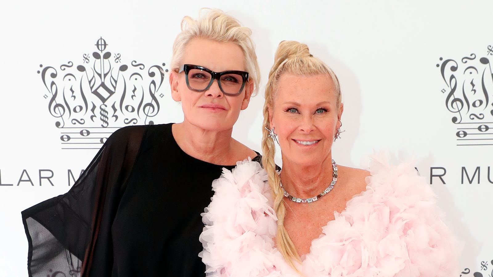 Eva Dahlgren och Efva Attling.