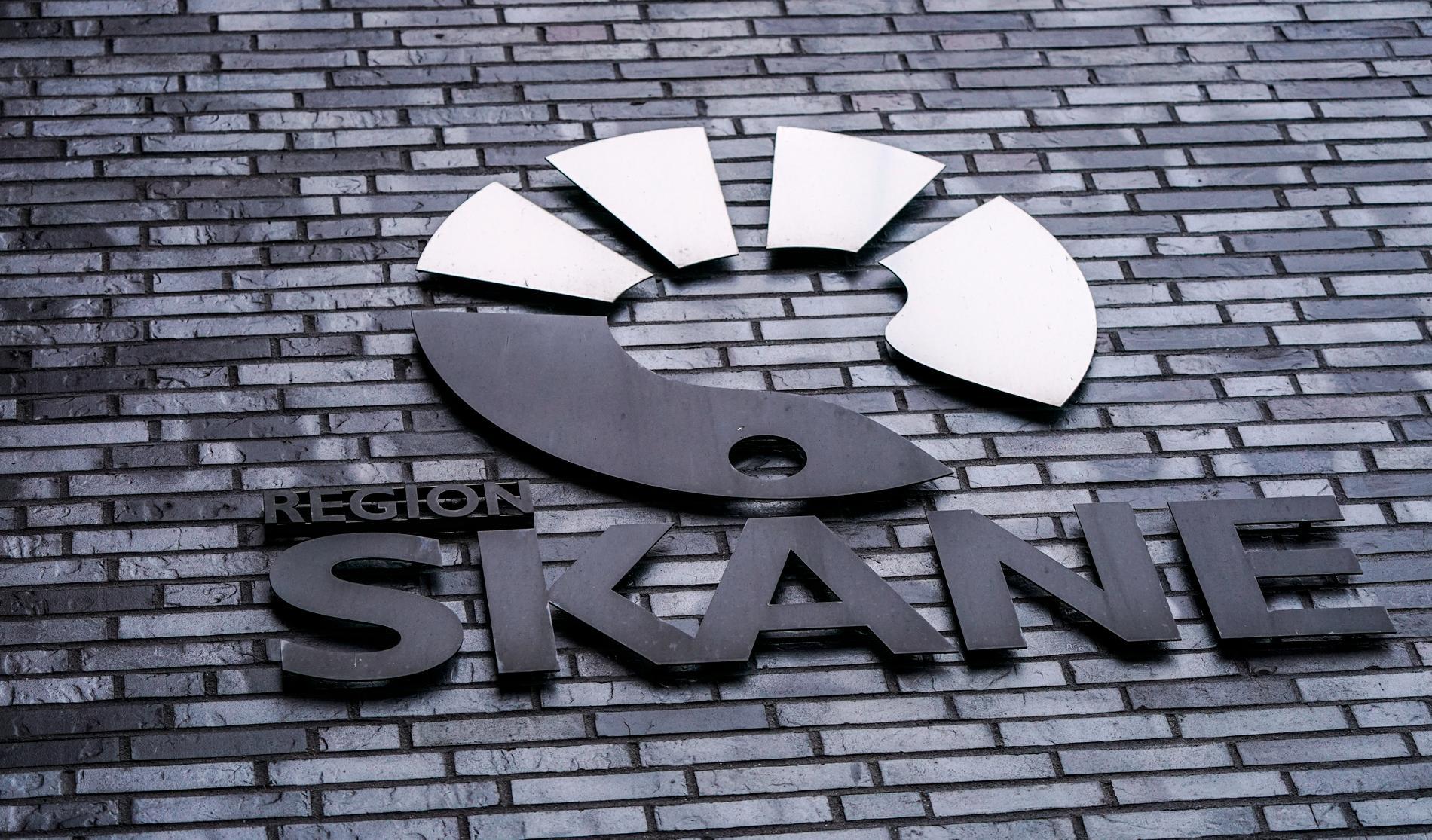 Region Skånes logotyp.