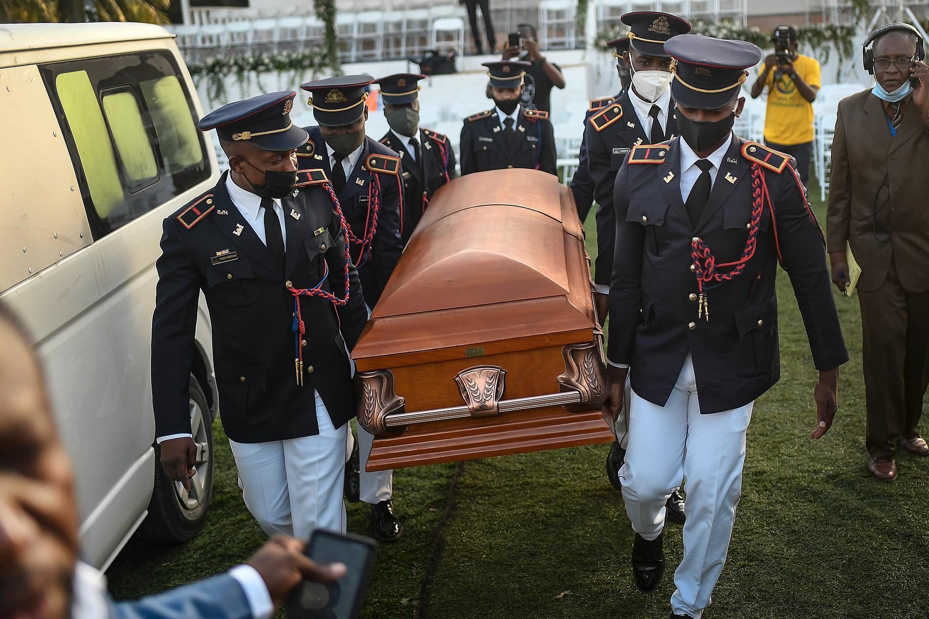 I juli mördades Haitis president Jovenel Moïse.