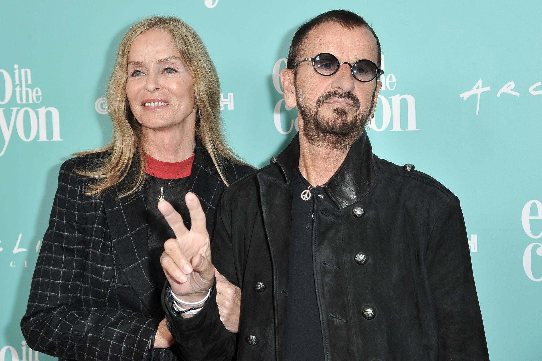 Ringo Starr och hustrun Barbara Bach.