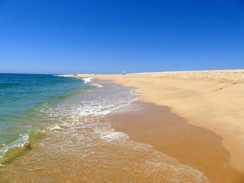 Ilha Deserta i Portugal kommer på andra plats.