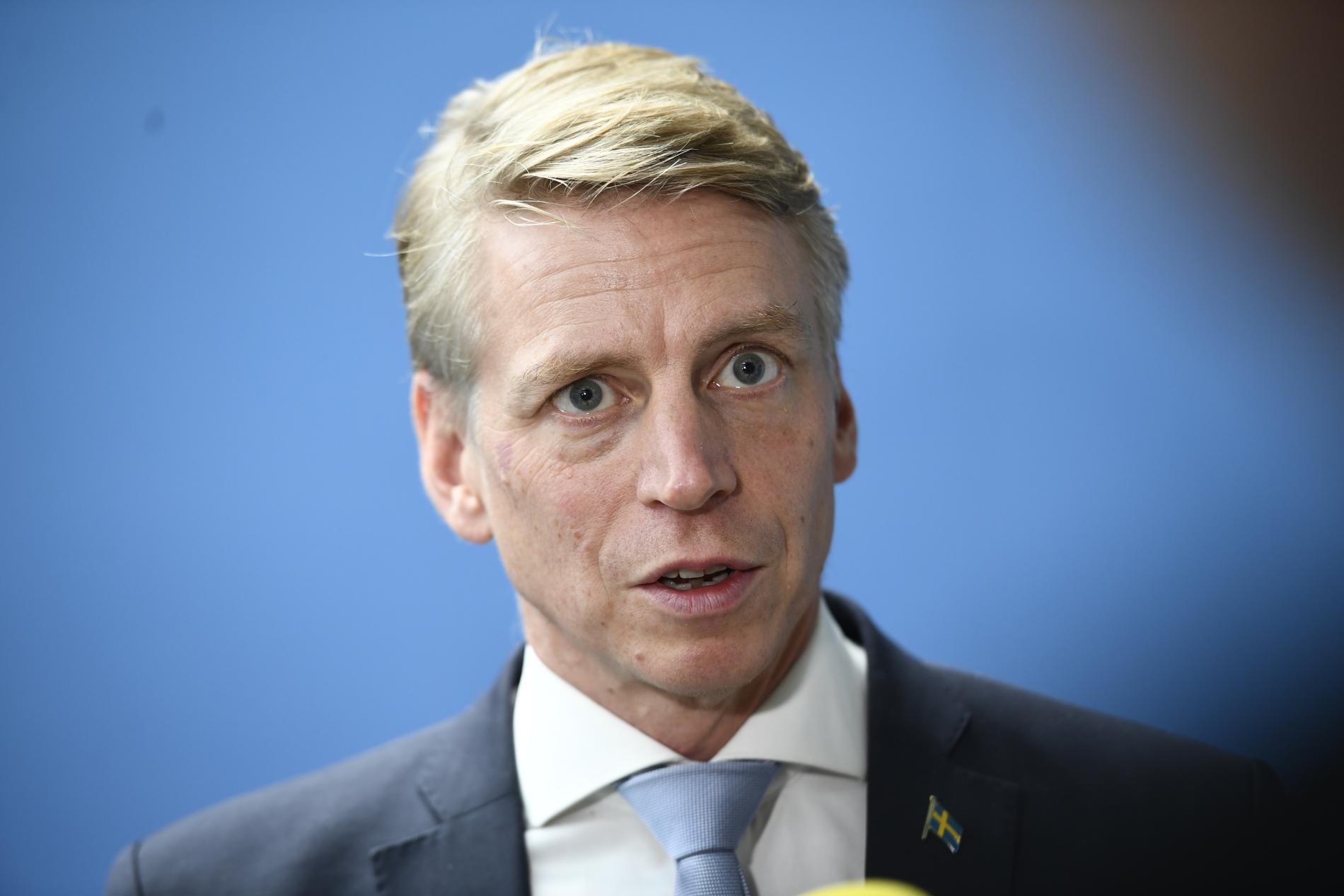 Miljöminister Per Bolund (MP). Arkivbild