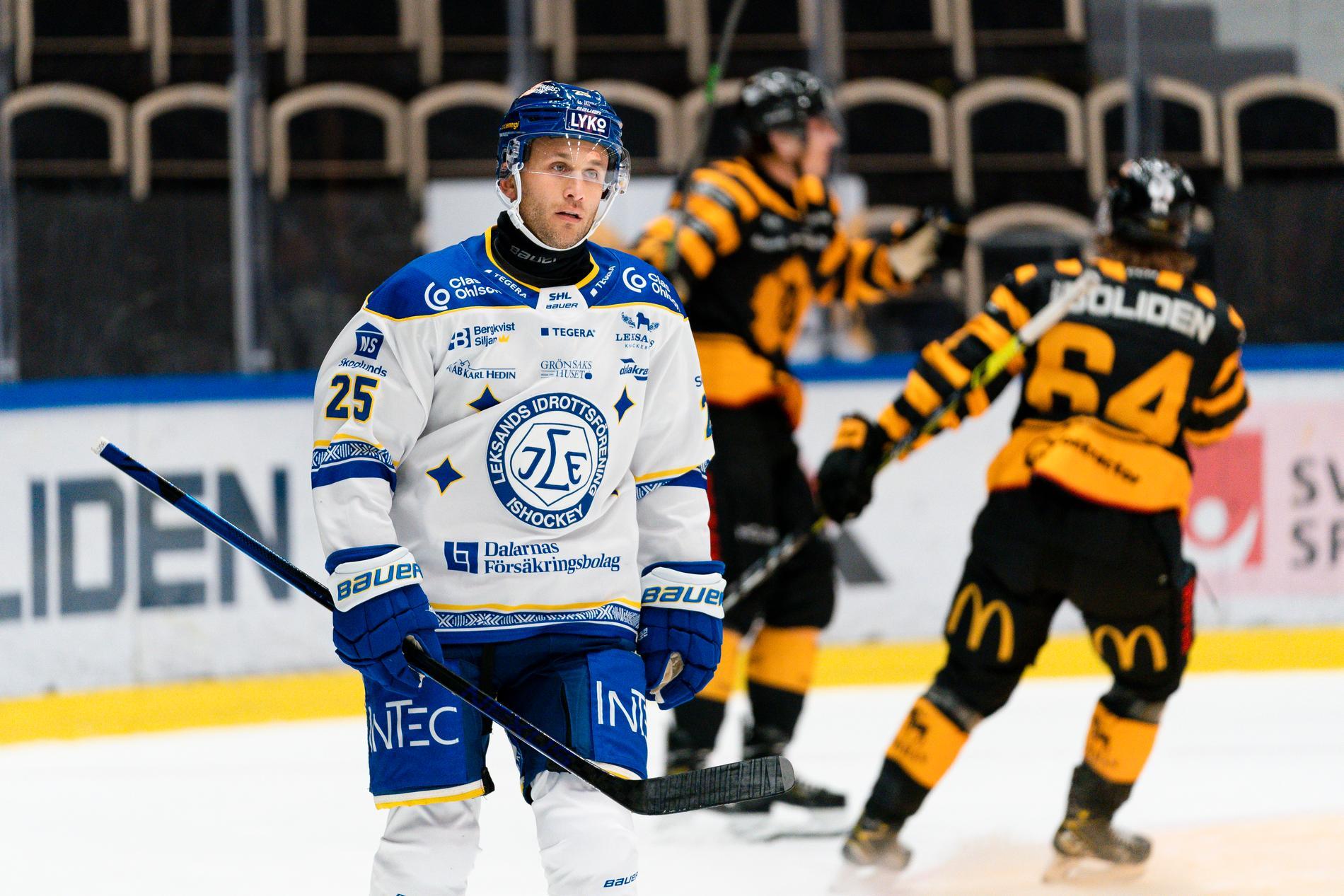 Leksands Carter Camper deppar mot Skellefteå.
