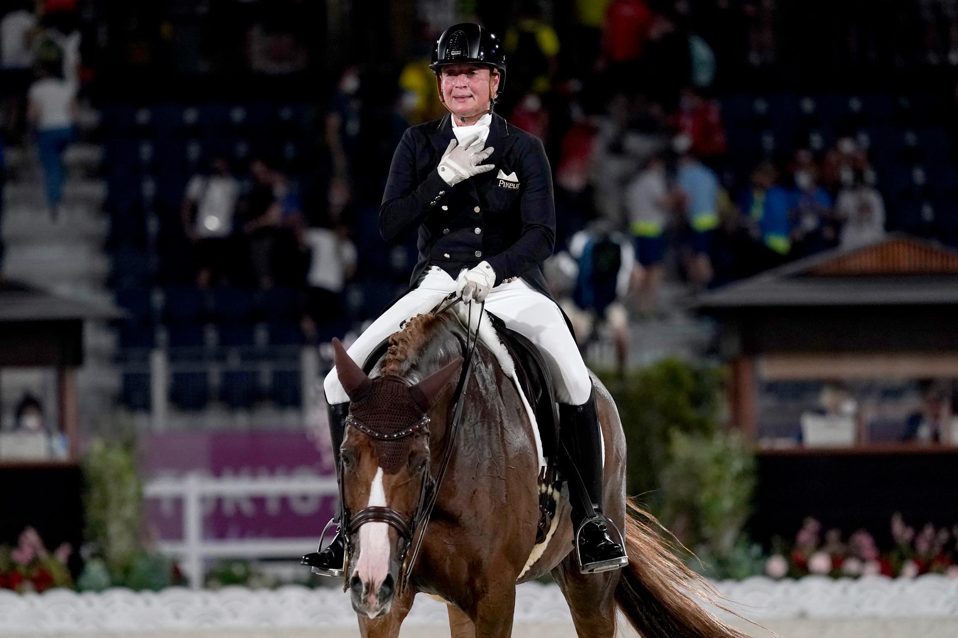 Isabell Werth har fler OS-guld än någon annan ryttare.