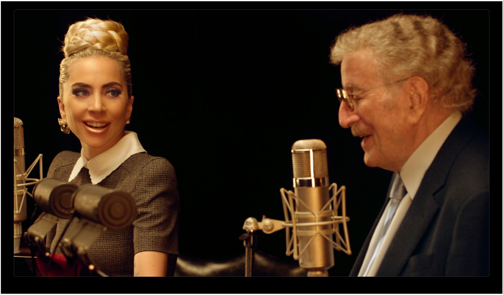 Croonern Tony Bennett säger hej då till karriären tillsammans med Lady Gaga.