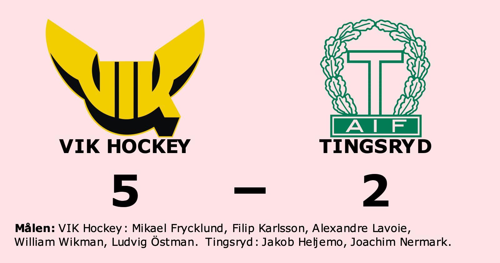 Jakob Heljemo och Joachim Nermark målskyttar när Tingsryd förlorade