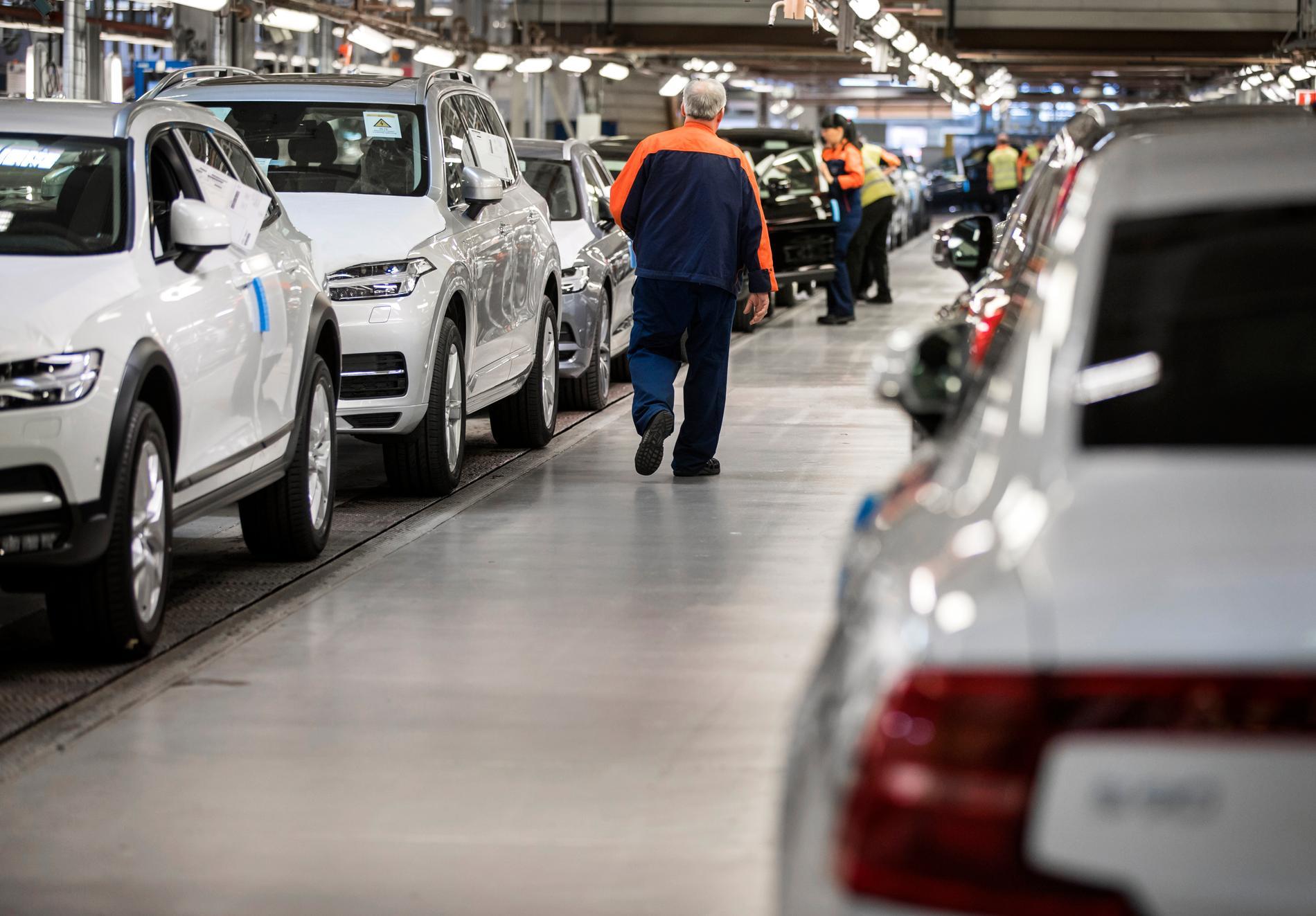 Anställda på Volvo i Torslanda hör till de som får betydligt längre restid till jobbet när