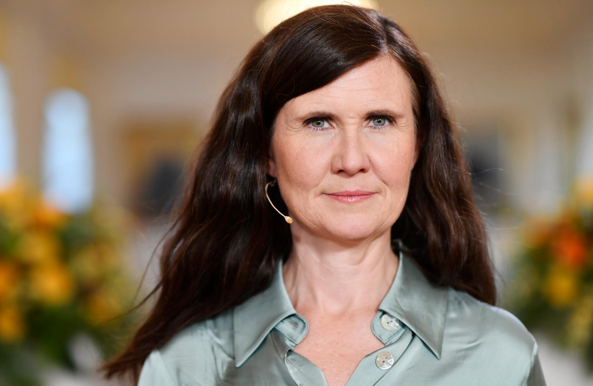 Miljöpartiets språkrör Märta Stenevi (MP) vill att alla partier redovisar vilken klimatpolitik de vill föra. Arkivbild.