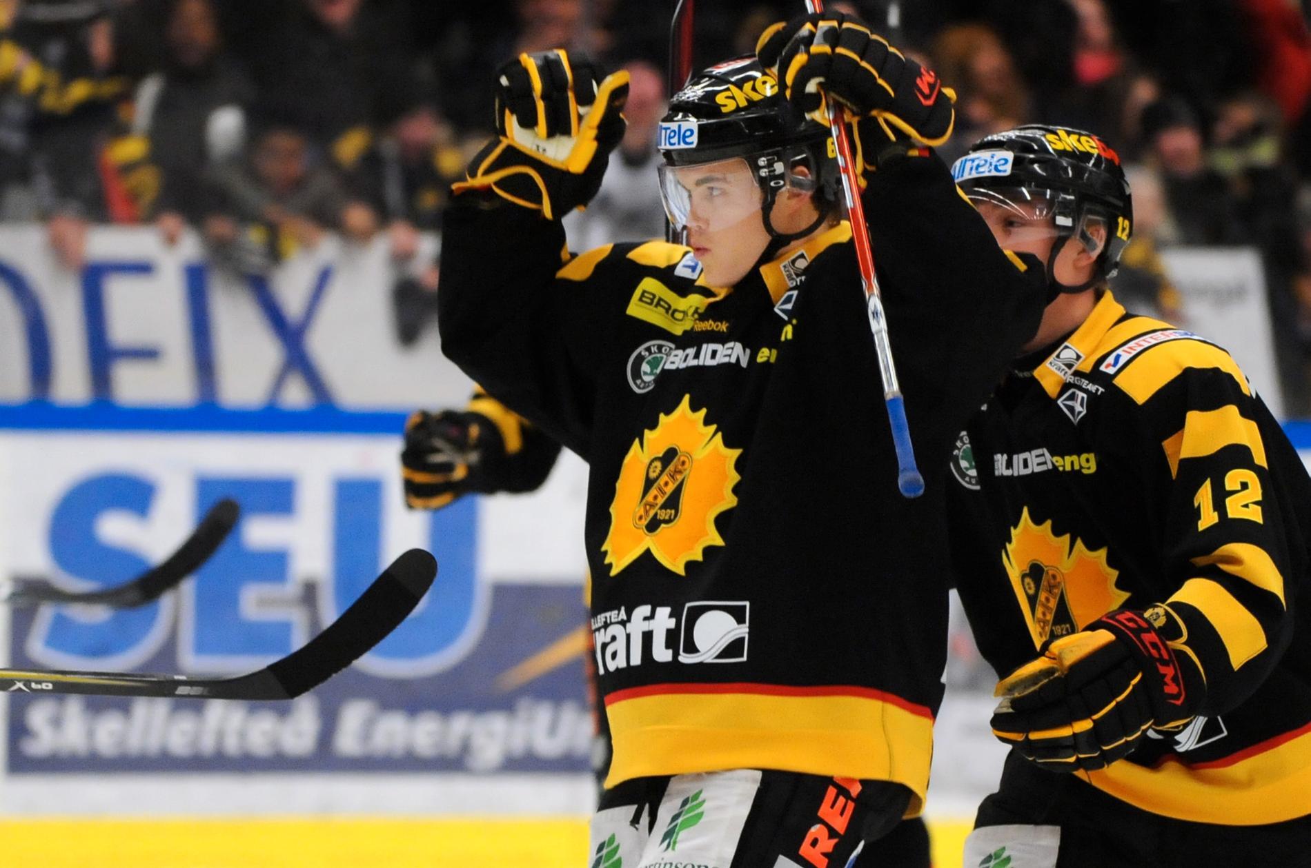Ville Koistinen under tiden i Skellefteå AIK.