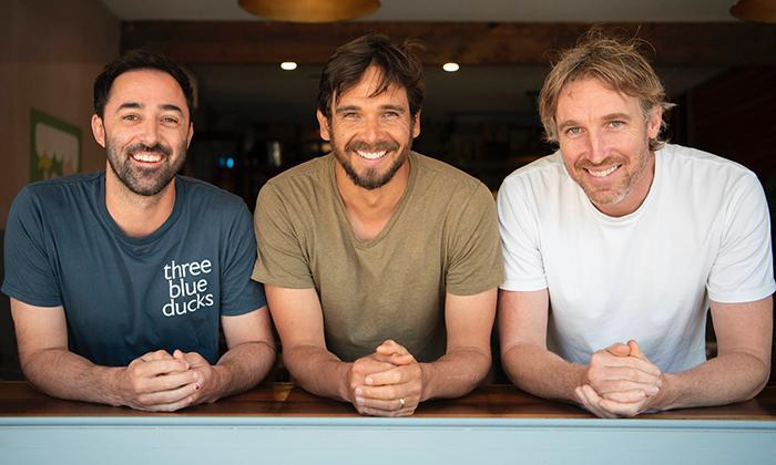 Three blue ducks – australisk matlagningsserie.