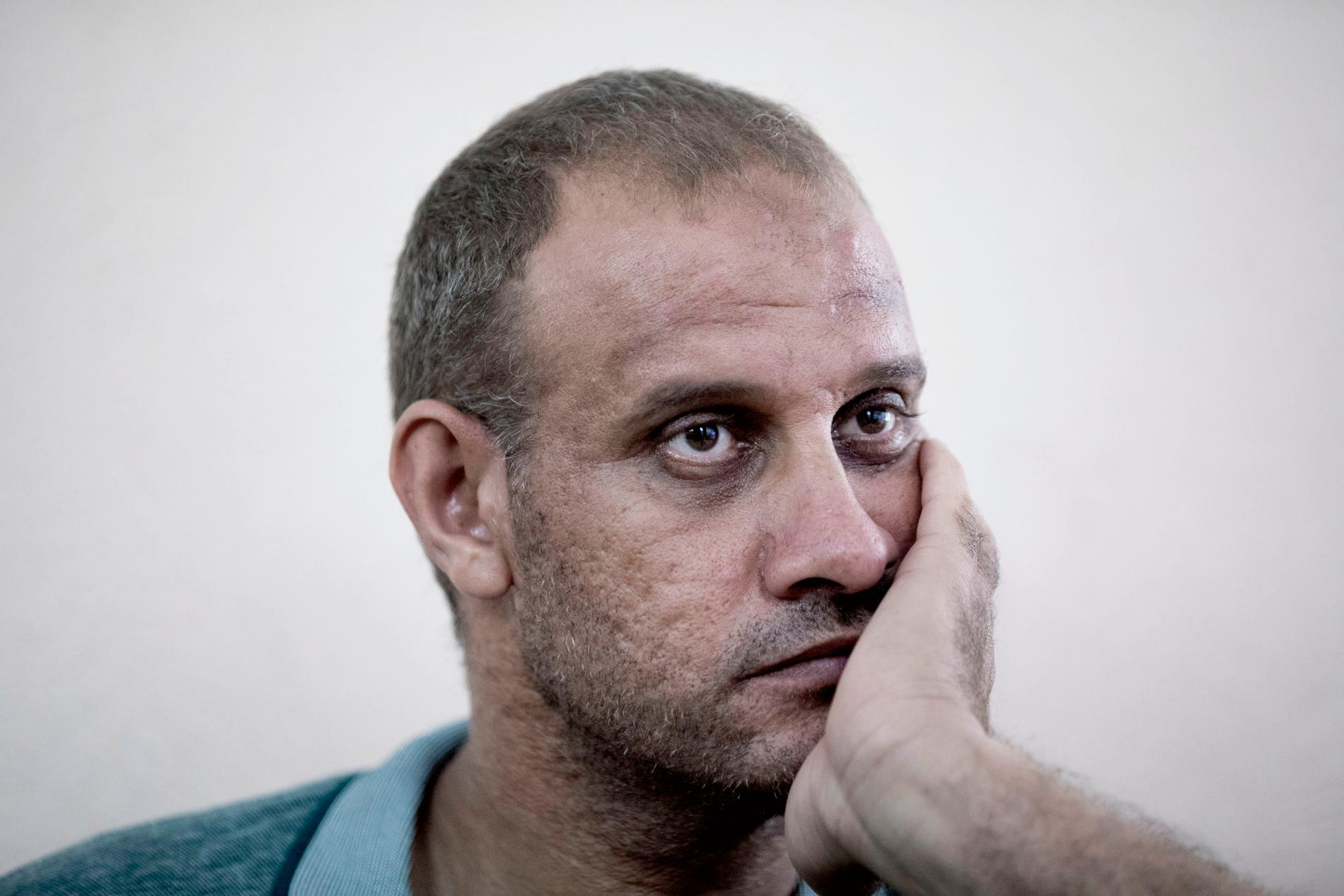 Muhammed al-Hadidi stannade hemma när resten av familjen besökte kusinerna.