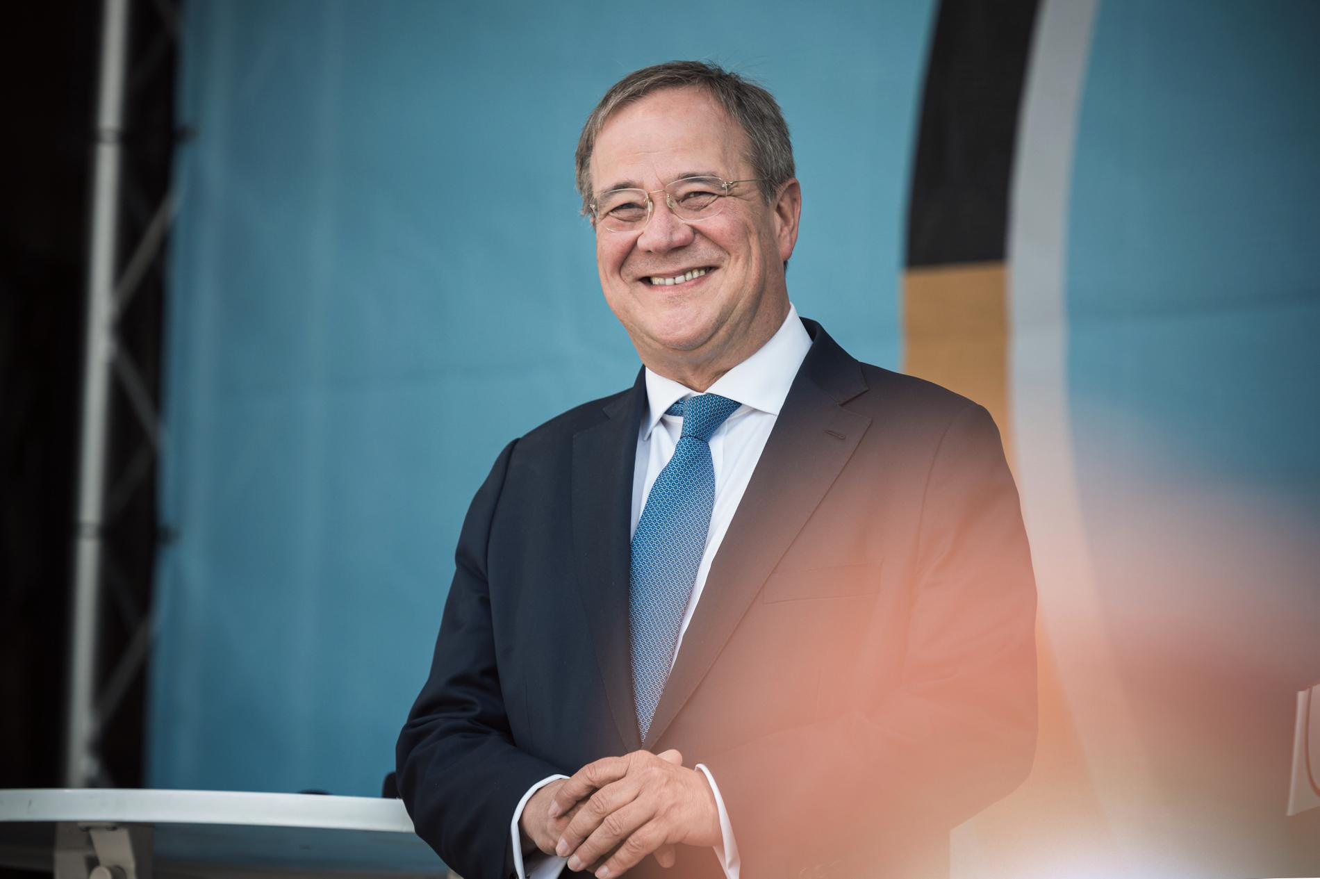 Armin Laschet, CDU, kandidat till förbundskanslerposten.
