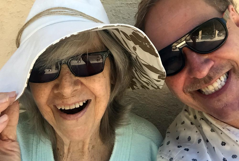 Anita Lindblom med Jan Göransson.