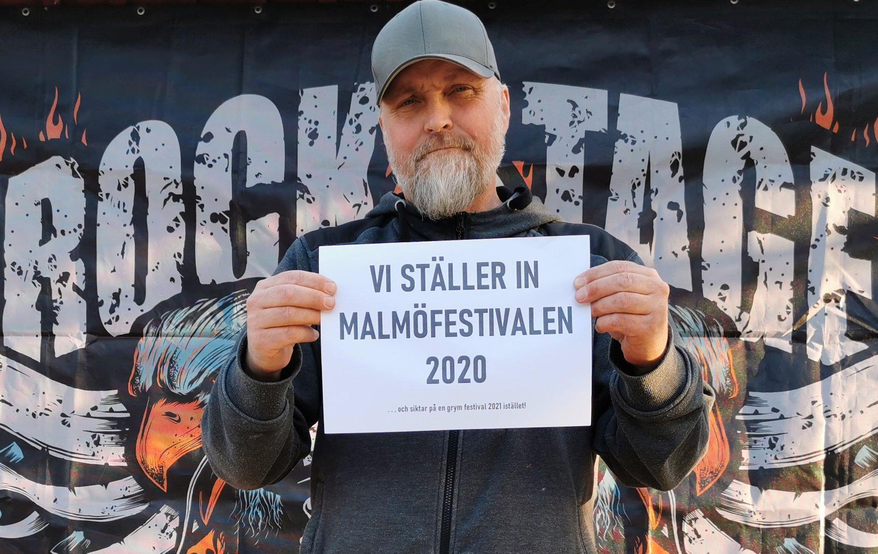Micko Twedberg och Rock Stage har ställt in sin medverkan.