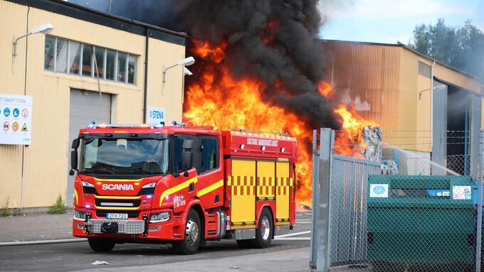 Allmänheten uppmanas gå inomhus i Gävle.