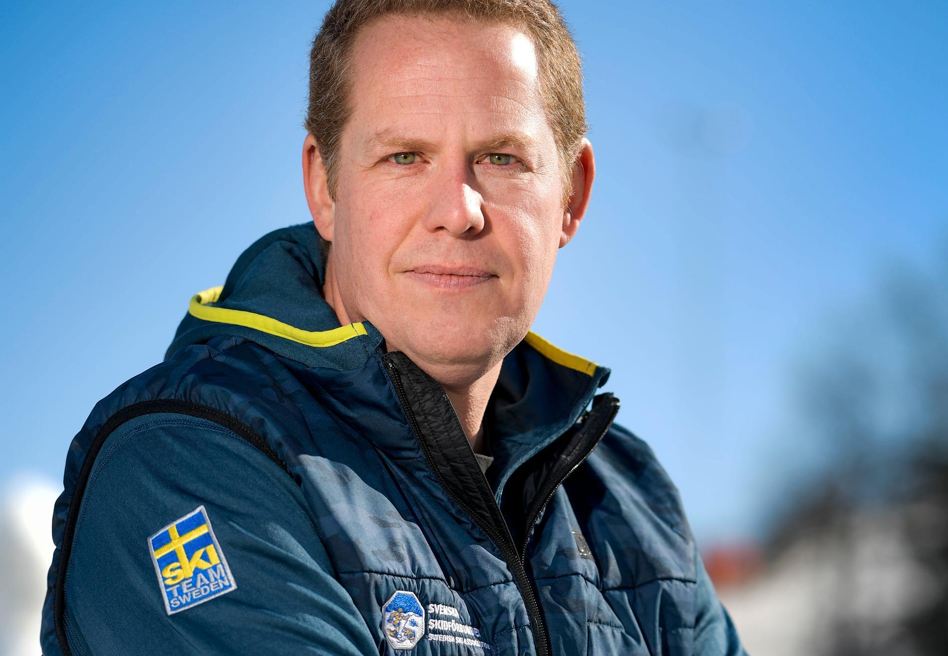Förbundsdirektören Ola Strömberg.
