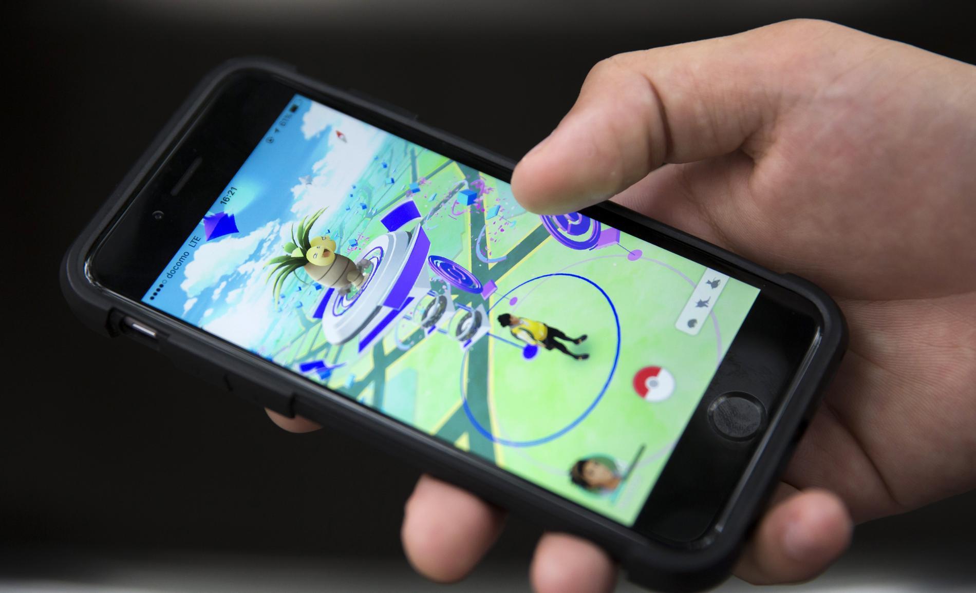 "Mobilspelet ""Pokémon Go""."