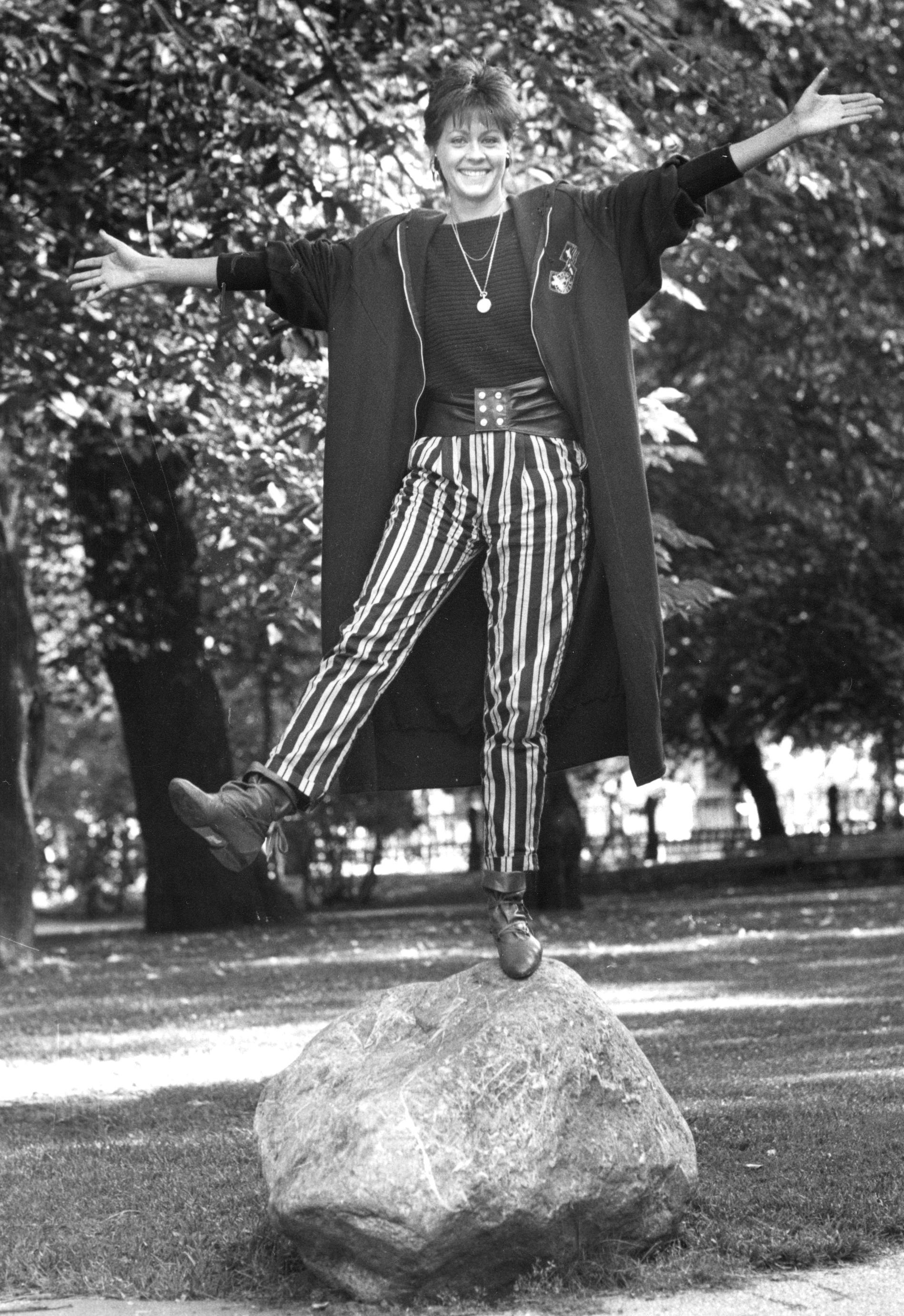 Nina Gunke 1986.